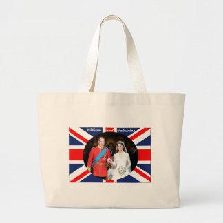 El boda real 14 bolsa tela grande