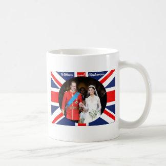 El boda real 14 taza básica blanca