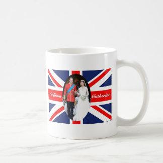 El boda real 15 taza básica blanca