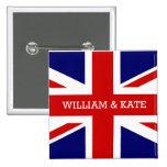El boda real - Guillermo y Kate Pin