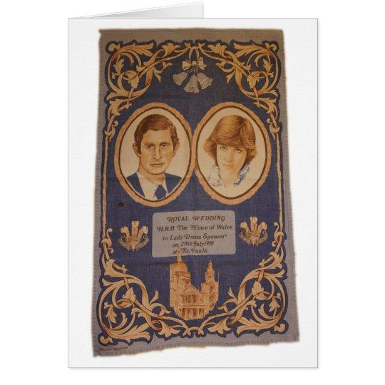 El boda real: tarjeta de felicitación