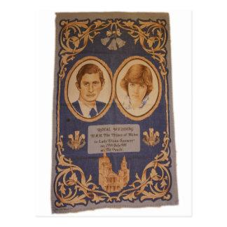 El boda real: tarjetas postales