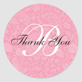 El boda rosado del brocado le agradece