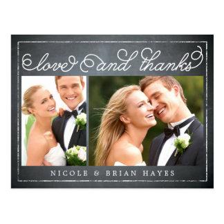 El boda rústico de la frontera le agradece cardar  tarjetas postales