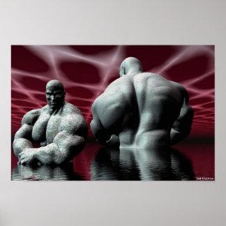 el bodybuilder póster