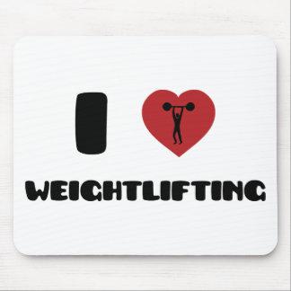 El Bodybuilding/levantamiento de pesas Tapetes De Raton