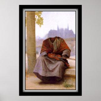 El bohemio invisible de Bouguereau Póster