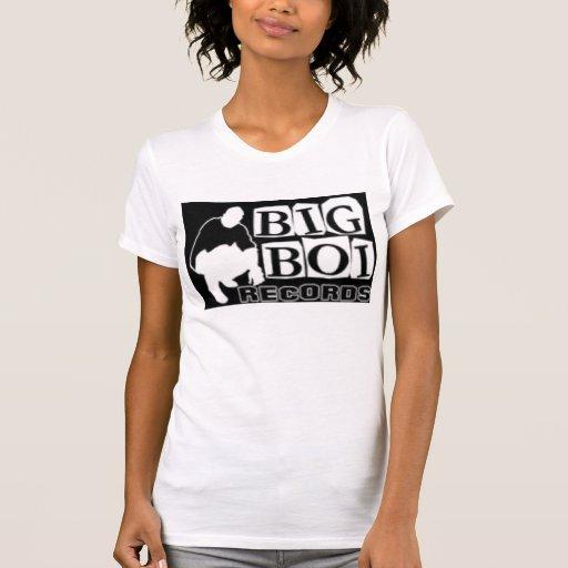 el boi grande registra el logotipo camiseta