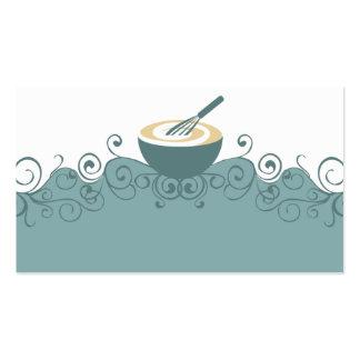 el bol grande bate la tarjeta de visita del chef d