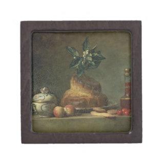 El bollo de leche o el postre, 1763 (aceite en lon cajas de recuerdo de calidad