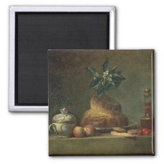 El bollo de leche o el postre, 1763 (aceite en lon imán cuadrado