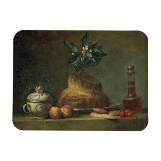 El bollo de leche o el postre, 1763 (aceite en lon imán foto rectangular