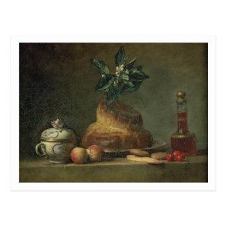 El bollo de leche o el postre, 1763 (aceite en lon postales