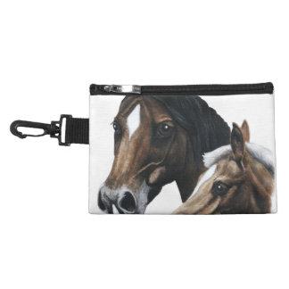 El bolso accesorio del jinete del caballo de Mindg