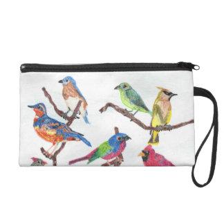 El bolso colorido del accesorio de los pájaros