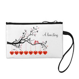 El bolso cosmético romántico