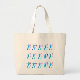 El bolso de Archer - Archer permanente en color Bolsa Tela Grande