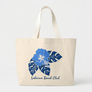 El bolso de club de la playa de Lahaina Bolsa Lienzo