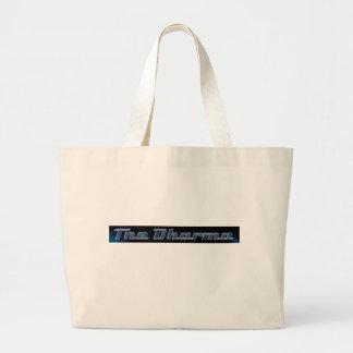 """El bolso de Dharma (""""funcionario"""") Bolsa Tela Grande"""