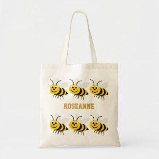 El bolso de la abeja de la miel añade nombre