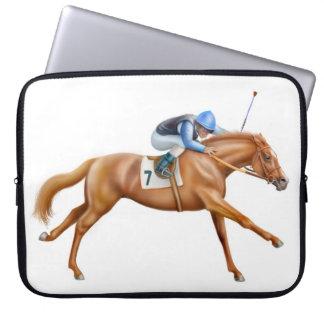 El bolso de la electrónica del caballo de raza fundas ordendadores