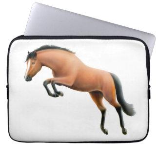 El bolso de la electrónica del caballo del puente  manga computadora