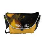 El bolso de la suerte del limón bolsas de mensajería