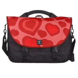el bolso de los corazones, ama el presente, día de bolsas de portatil