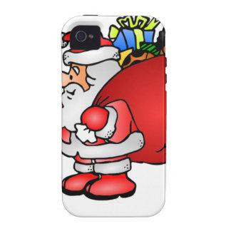El bolso de Santa de presentes iPhone 4 Carcasa