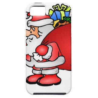 El bolso de Santa de presentes iPhone 5 Case-Mate Cárcasa