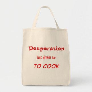 El bolso de ultramarinos de la desesperación bolsa