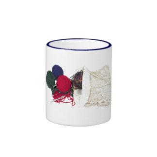 El bolso de un calcetero taza de dos colores