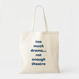 El bolso del actor para acarrear la materia a los  bolsa tela barata