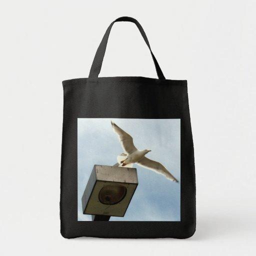 El bolso del lanzamiento bolsa tela para la compra
