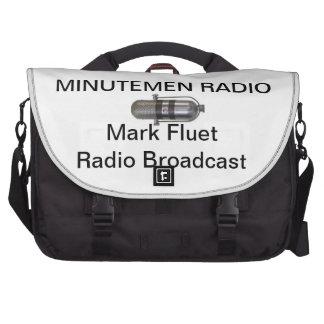 El bolso del ordenador de la emisión de radio de F Bolsas De Portatil