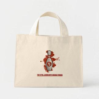 El bolso del Pin del rojo 5 Bolsa