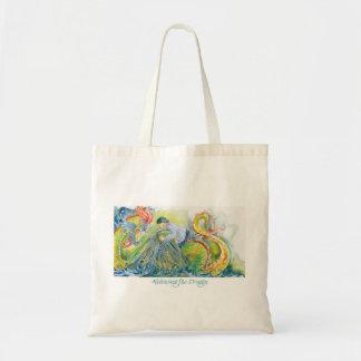 El bolso del regalo del dragón bolsas de mano