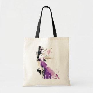 """El bolso del """"vestido púrpura"""" por el kilómetro di bolsa tela barata"""