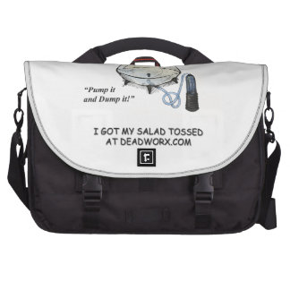 El bolso del viajero de Tosser de la ensalada Bolsas De Portatil