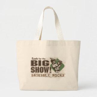 El bolso grande de la demostración bolsa de tela grande