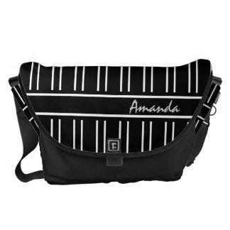 el bolso rayado elegante, corrige nombre bolsas messenger