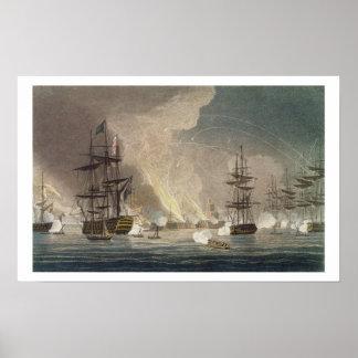 El bombardeo de Argel de la marina de guerra real, Póster