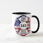 El bombero 9/11 nunca olvida 343