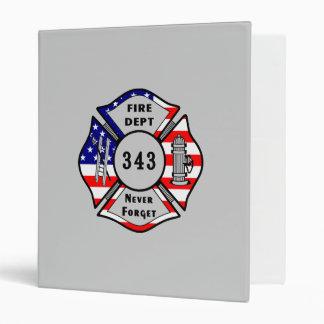 """El bombero 9/11 nunca olvida 343 carpeta 1"""""""