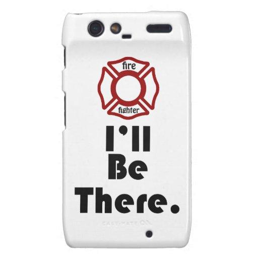 El bombero, estaré allí droid RAZR funda