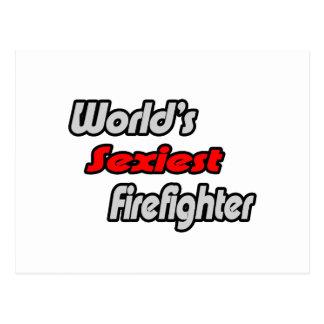 El bombero más atractivo del mundo postales