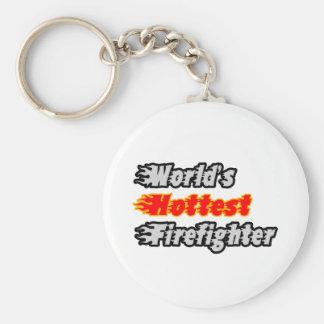 El bombero más caliente del mundo llaveros