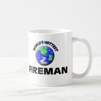 El bombero más caliente del mundo taza