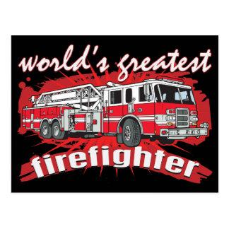El bombero más grande del mundo postales
