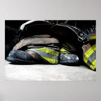 El bombero patea el poster